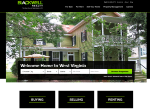 Blackwell Realty home page